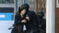 Some hostages escape from Sydney cafe