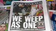"New Yorkers ""disgusted"" after two NYPD officers are shot and killed"