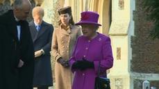 Queen and family celebrate Christmas at Sandringham