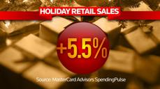 Retailers had a happy holiday