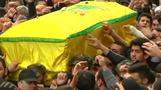 Thousands attend funeral for Hezbollah figure killed in air strike