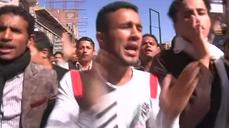 Thousands of Yemenis stage biggest anti-Houthi protest in Sanaa