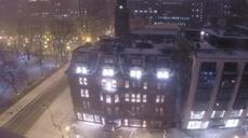 Time-lapse video shows snow frosting over Boston