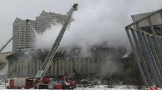 Fire destroys scientific library in Moscow