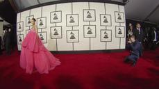 TIMELAPSE: On the Grammy red carpet