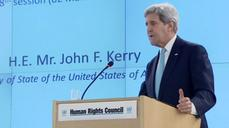 Kerry denounces 'deeply concerning' U.N. rights council record on Israel