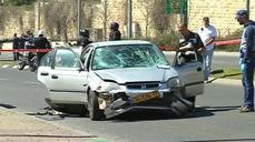Five injured in Jerusalem car attack