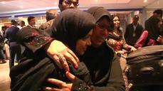 Pakistani evacuees arrive home