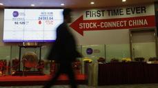 Hong Kong-Shanghai trading link surges
