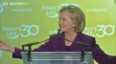 Hillary jumps in Sunday for 2016 run