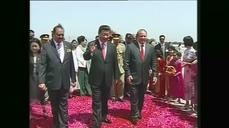 China's Xi Jinping arrives in Islamabad