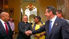 Cuomo meets Cuban Cardinal on visit to Havana