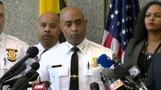 Baltimore police commissioner says he is not stepping down