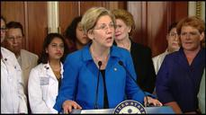 Warren fights Obama on Asia trade deal