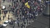 Day of protests in Baltimore for Freddie Gray