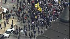 Day of protests in Baltimore