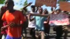 Burundi protesters clash with police in third day of violence