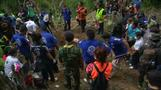 Twenty-six bodies exhumed from Thai mass grave