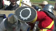 At Polish castle, knights arm up for medieval fight