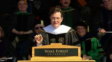 Colbert jokes about Tumblr black dress, new job at Wake Forest