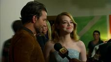 "Bradley Cooper, Emma Stone talk Cameron Crowe at ""Aloha"" screening"