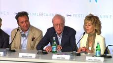 Michael Caine brings laughter and memories on return to Cannes