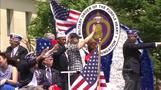 Parade performers march, sing in honor of U.S. military
