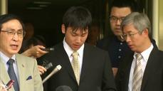Japan's Tomita guilty of theft
