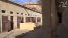 Video shows Islamic state fighters inside notorious Palmyra prison