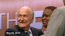 Blatter resigns days after re-election, arrests