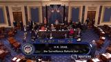 Senate passes domestic surveillance reform bill