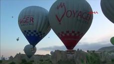 Eighteen injured in Turkish balloon crash