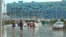 Russia's Sochi hit by floods