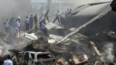 Military air crash kills dozens in Indonesia