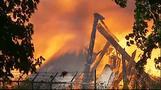 Fire destroys historic Oregon stadium