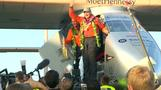 Joy of solar power pilot after Hawaii landing
