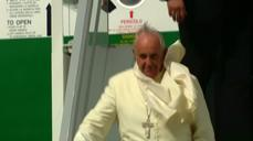 Pope lands in Ecuador at start of South America tour