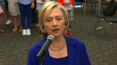 "Hillary Clinton: Crisis in Greece ""a tragedy"""