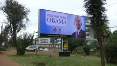 "Kenyans welcome Obama back ""home"""