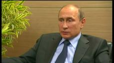 Putin defends FIFA's Blatter