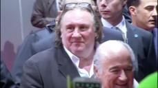 Actor Depardieu banned from Ukraine for stance on Russia