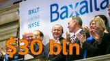 Drugmaker Shire's $30 bln Baxalta bid