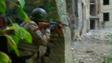Volunteers undergo rigorous training to join Kiev's police force