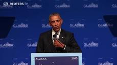 Obama sees Putin from Alaska