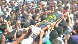 Palestinians hold funeral for man killed during attack on Israeli forces
