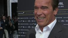 Schwarzenegger receives Zurich's Golden Icon Award
