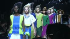 Three dimensional clothing in Issey Miyake's Spring/Summer