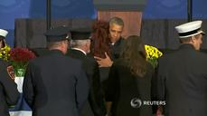 Obama honors fallen firefighters
