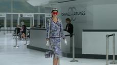 Chanel takes to the skies at Paris fashion week