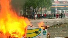 Violence erupts in Belgium over austerity measures